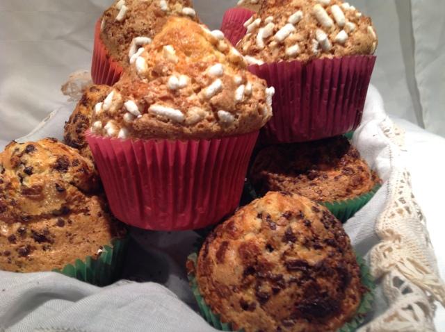 Muffin  cioccolato e granella