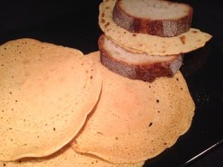 Pancake di ceci gluten free